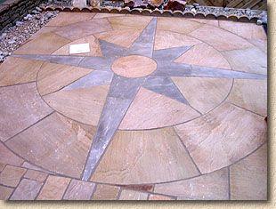 concrete circle pavers