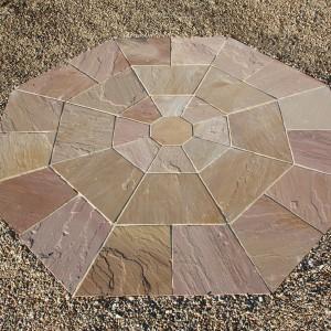 Sandstone-Octagon-Modak-Rose